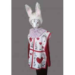 kouzelný srdcový bílý  králík