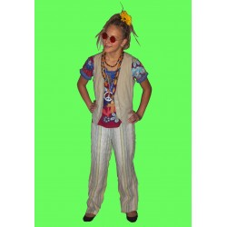 hipíz kostým - 70léta