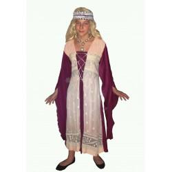 středověké dámské šaty