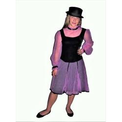 šaty  tanečnice  /   služka