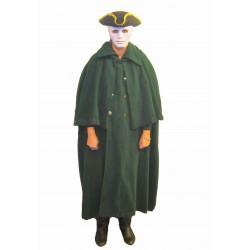 zelený kabát