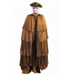 dobový plášt  hnědý