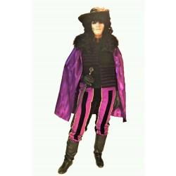 rytíř  černo fialový
