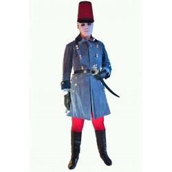 modrý dobový voják