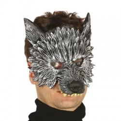 vlk - gumová maska