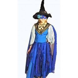 čarodějka  modrá