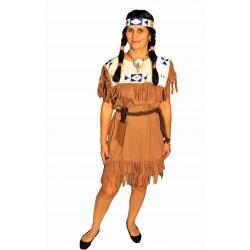 indiánka z kmene Siouxů