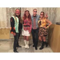 večírek - hippies