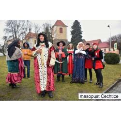Masopust  Čechtice - téma středověk