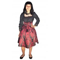 gotické šaty - upírka