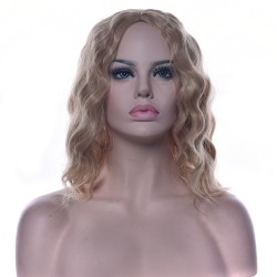 mikádo vlnité blond