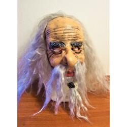 gumová maska starce