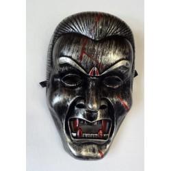tvrdá stříbrná maska - upír