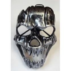 tvrdá stříbrná maska - smrtka