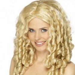 paruka -blond lokny