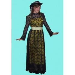šaty  20-á až 30-á léta
