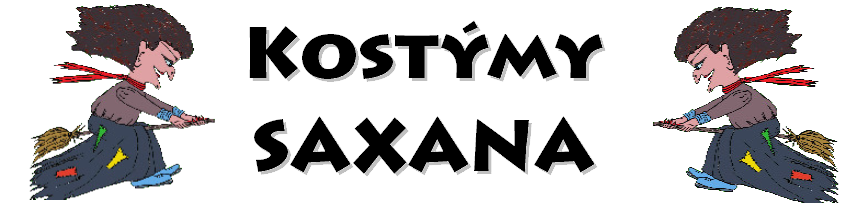 Kostýmy Saxana